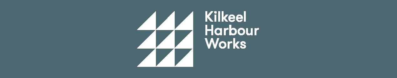 kilkeel harbour works brand design